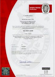 ISO 9001 - Certificate of conformity