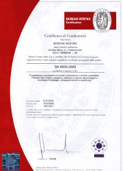 SA8000 - Certificate of conformity