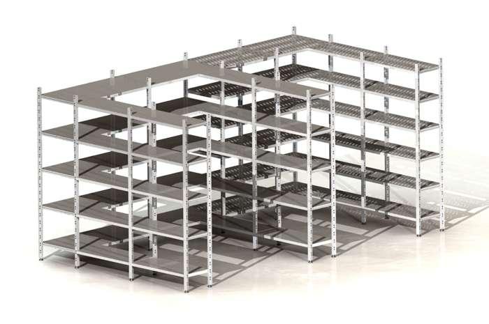 Libreria metallo componibile librerie componibili leroy merlin
